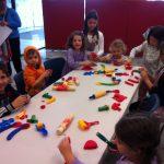 playdough art station