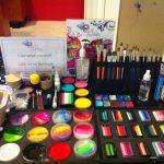 Face paint set up