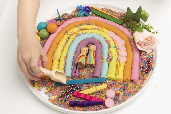 rainbow-playdough-kit